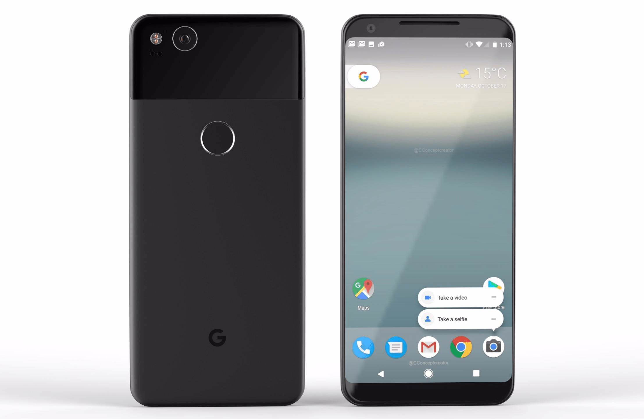 Google Pixel 2 - Full Specifications leaked