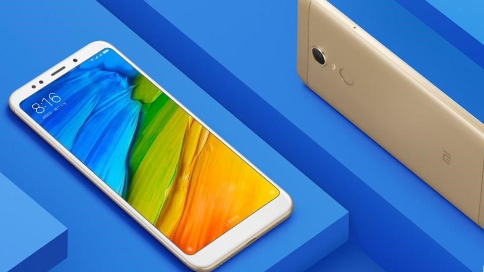 Redmi 5 With Launched at Starting Price of Rs. 7,999