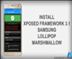 Install Xposed Framework 3.1 Any Samsung Device MM | LP
